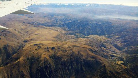 De Lima à Cuzco en avion