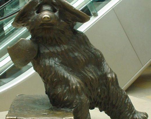 Paddington l'ours à Paddington Station